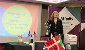 Dr. Tammy Manko speaks at Affinity Days